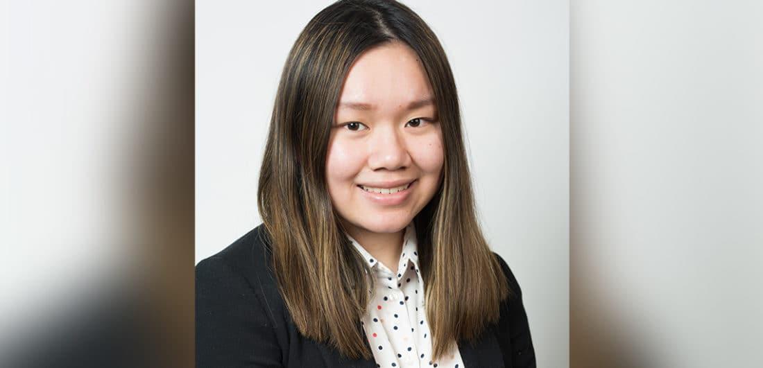 Cecilia Sjöberg, studentambassadör för Karriärföretagen