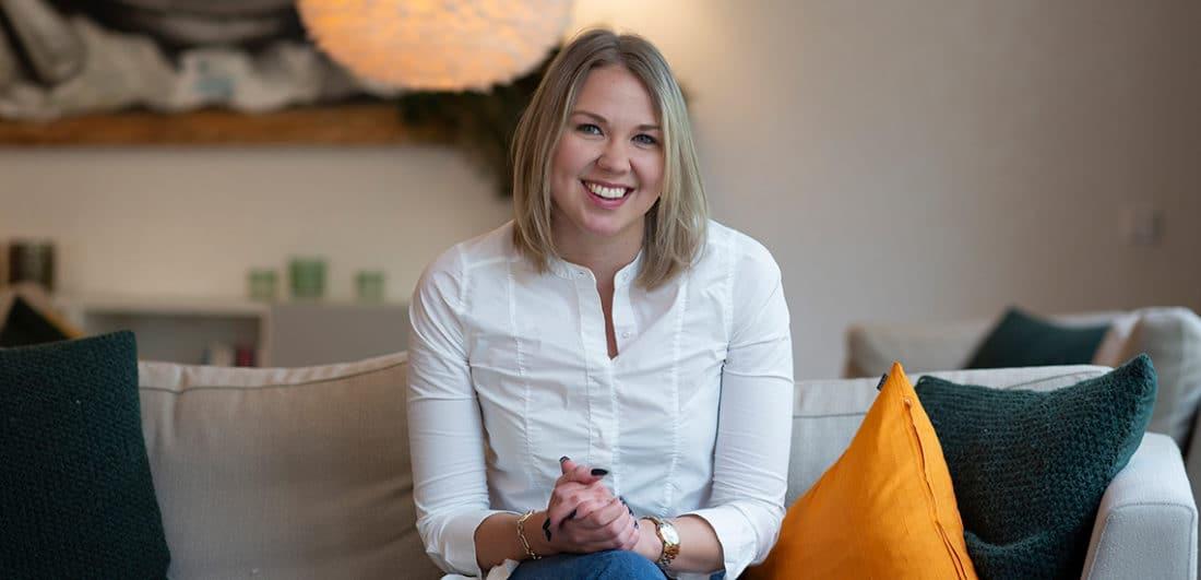 Fanny Norkko, produktionsingenjör på Skanska