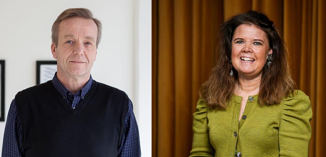 Torgny Johnsson, konsult inom förändringsledning och HR samt Anna Dyhre, föreläsare och författare inom employer branding