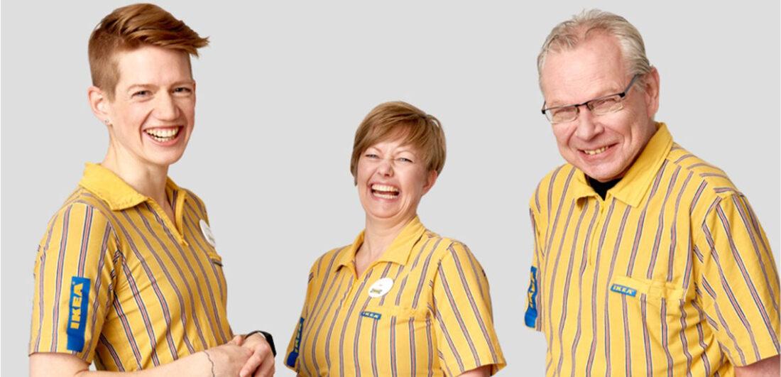 Anställda på Ikea