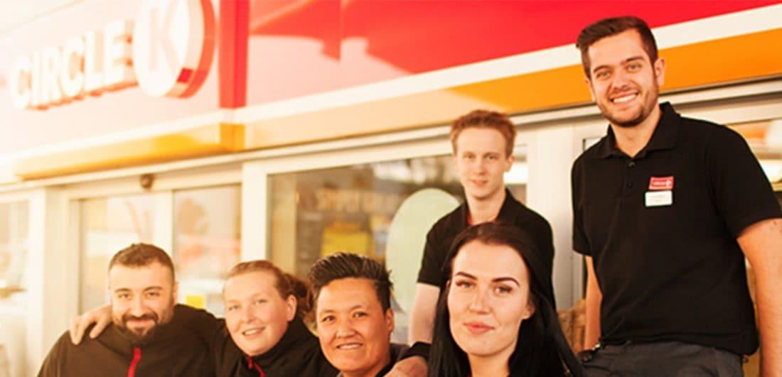 Medarbetare på Cirkle K, ett världsledande servicehandelföretag och ett av årets Karriärföretag