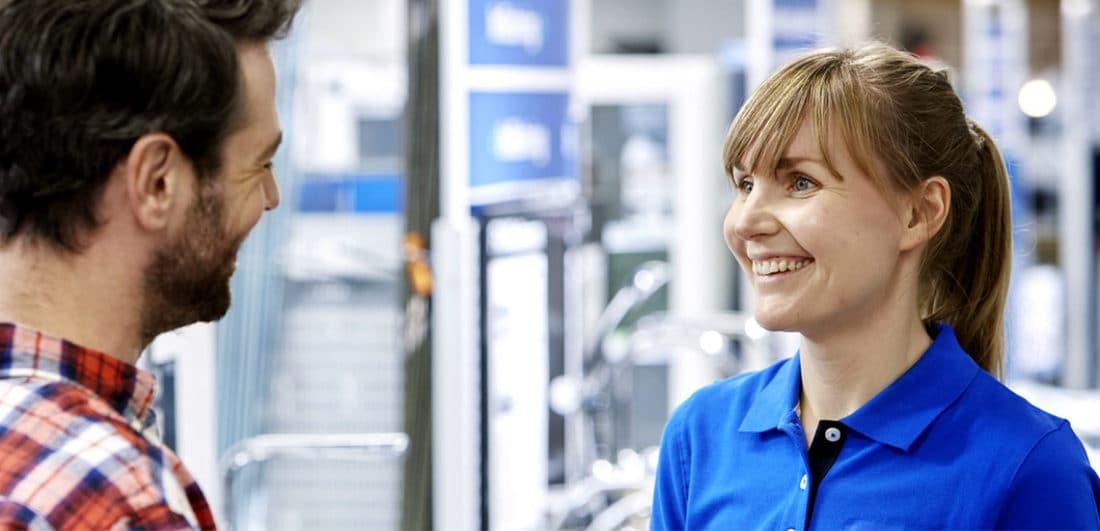 Glada medarbetare på Dahl, ett handelsbolag i VVS-branschen som är ett av årets Karriärföretag