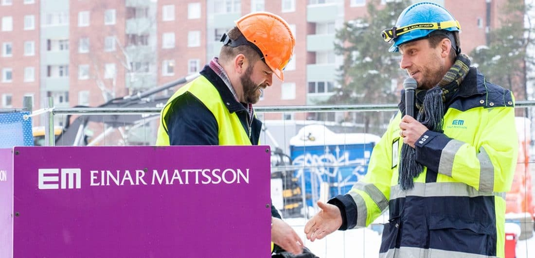 Medarbetare på Einar Mattsson, Stockholms största privata ägare av hyresbostäder och ett av årets Karriärföretag