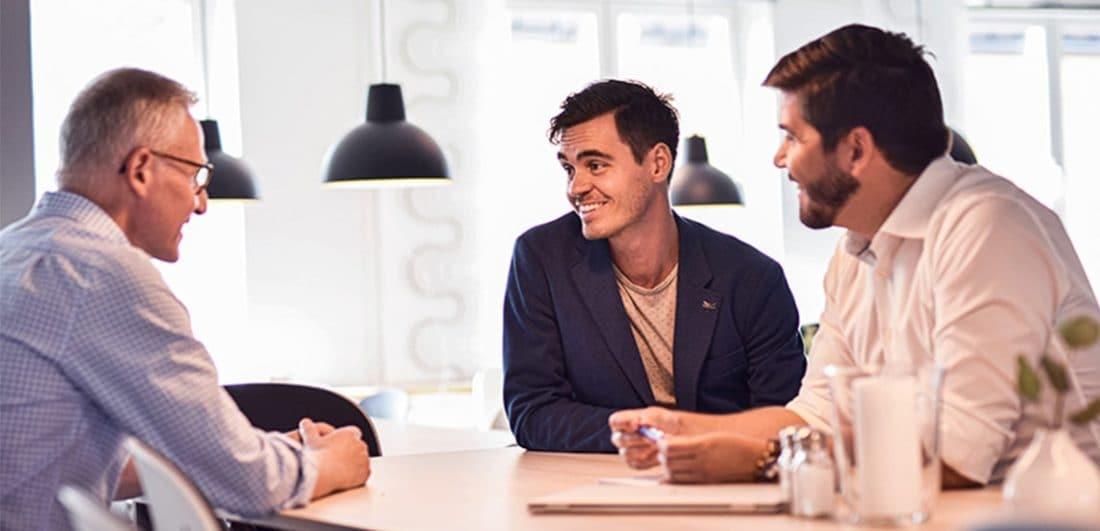 Medarbetare på Exsitec som är ett företag som är experter på affärssystem, digitalisering och beslutsstöd, och ett av årets Karriärföretag