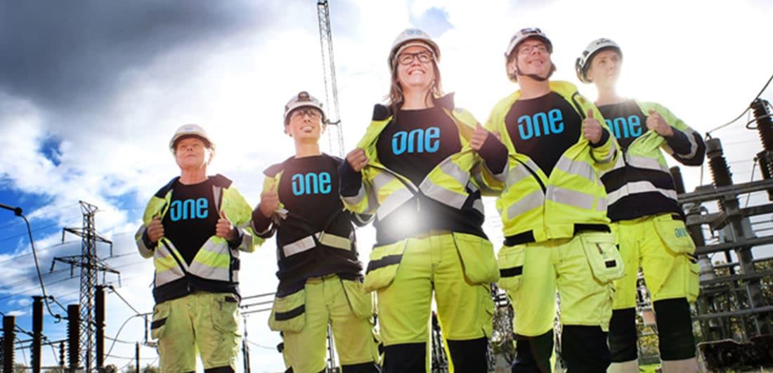 Medarbetare på One Nordic som är endt av Sveriges ledande företag inom tekniska konsulttjänster