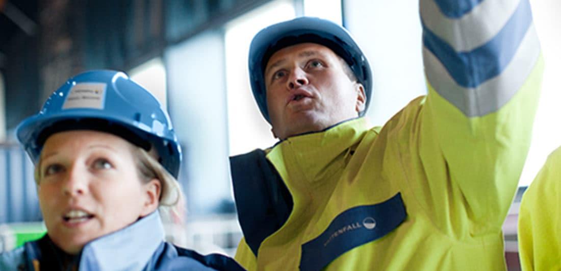 Medarbetare på Vattenfall som är en av Europas största producenter och återförsäljare av el och värme och ett av årets Karriärföretag