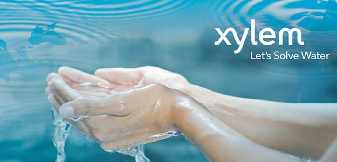 Bild från Xylem som är globalt ledande inom vattenteknik