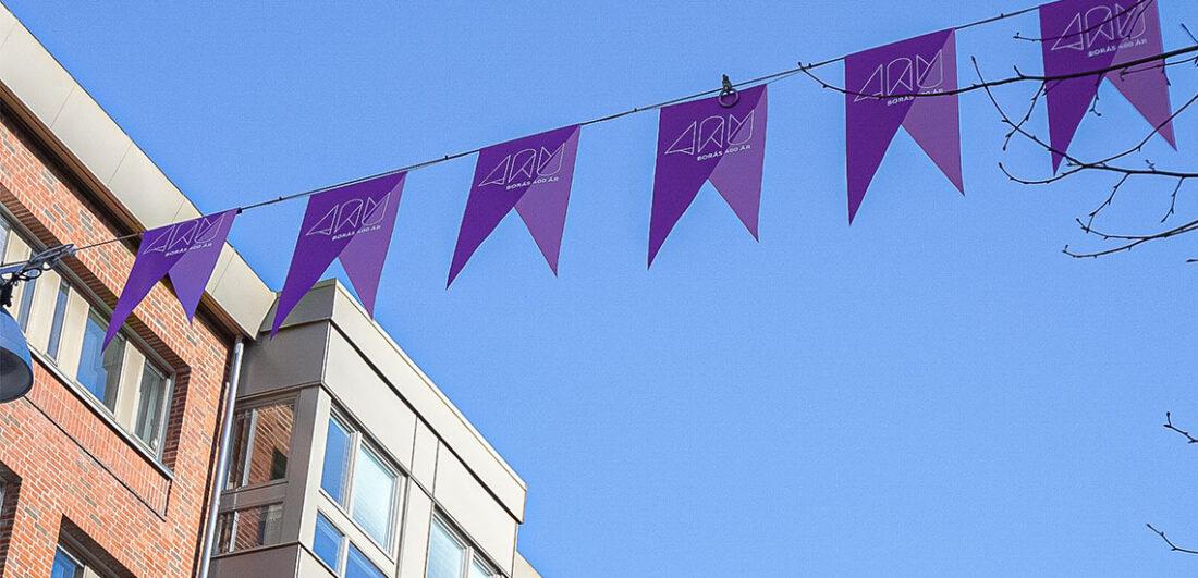 Flaggor i Borås
